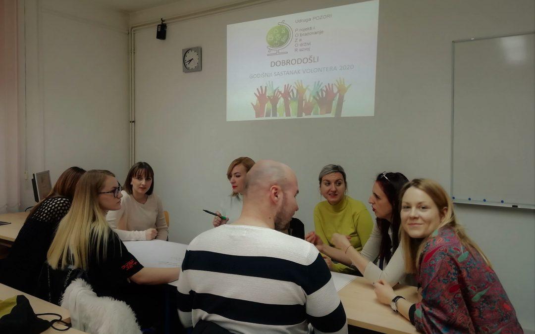 Informativni sastanak – planiranje aktivnosti volontera